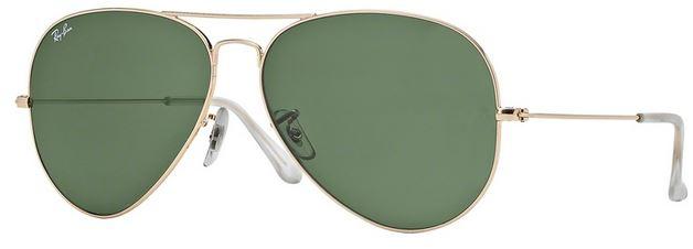 8d1a989f0b Ray-ban Aviator Sunglasses Classic Model Rb3025 Black
